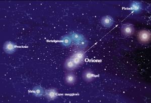 Cielo stellato. Come cercare le Pleiadi e Alcione