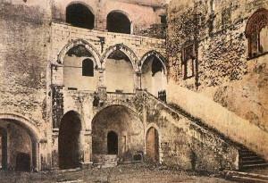 Fondi antica. Palazzo Baronale