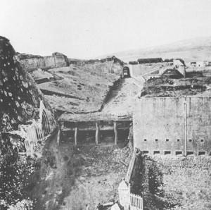Forte_gaeta_batteria_cittadella_feb_1862