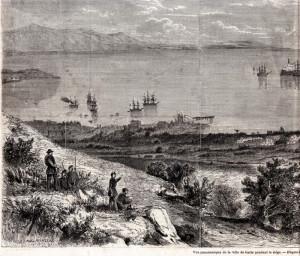 Il Golfo di Gaeta nel 1860