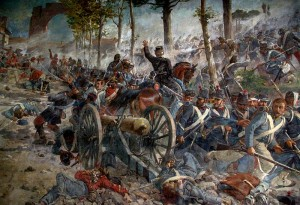 La battaglia del Volturno del 1° ottobre 1860