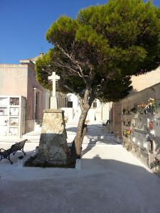 La piazzetta del Cimitero di Ponza