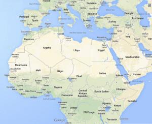 Mali Google Map