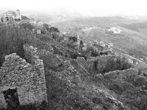 Maratea Castello. Santa Caterina (Monte San Biagio). BN