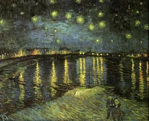 Notte stellata sul Rodano.1888