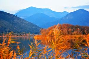 Orange. Lake