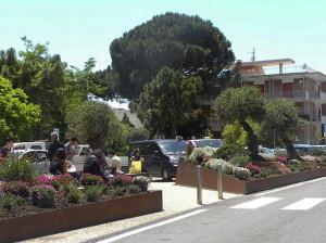 Stazione FS di Formia. Piazzale