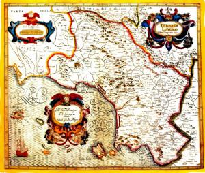Terra di Lavoro nel 1700