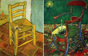 Van Gogh. Sedie