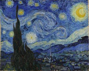VanGogh. Nuit ètoilée.1889.OK
