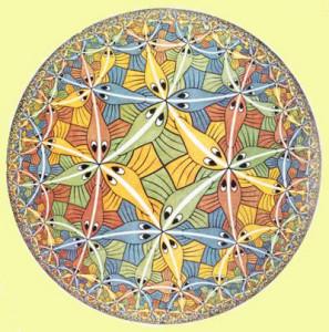 1. Escher. Limite del cerchio.III