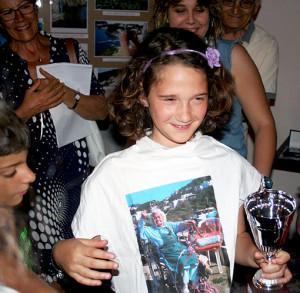 Alessia Iodice !° Premio fascia 8 13 anni