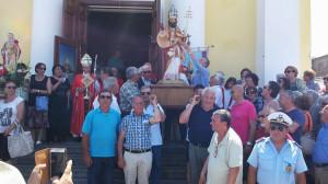 Alla processione con S. Silverio