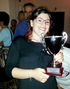 Anna Maria Mazzella 1^ Premio fascia 20-25 anni