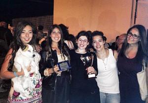 Anna Maria Mazzella, Lorenza Gungui ed alcune amiche