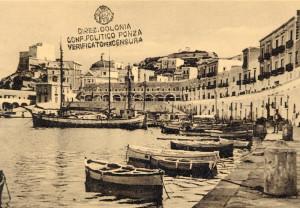 Cartolina comm.va confino f. Ridotta
