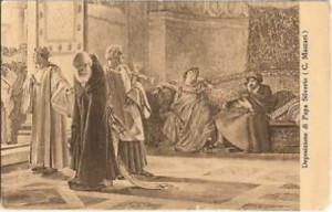 Deposizione di Papa Silverio di C. Massari