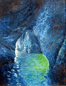 Guy Migliaccio. Grotta a Ponza.2