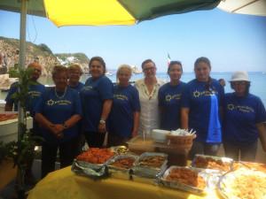 Il gruppo dei volontari della Pro-Loco a Giancos