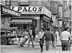 Immagini da Little Italy anni '50