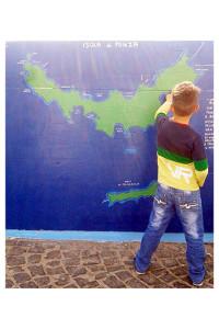 La cartina geografica di Miriam Vitale