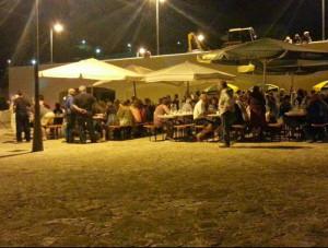 La cena a Le Forna