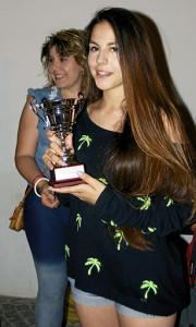 Martina Di Giovanni 1^ Premio fascia 14-19 anni