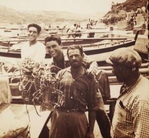 Pescatori ponzesi in Sardegna