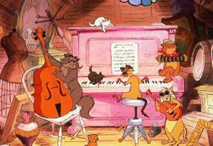 Pianoforte. Aristogatti