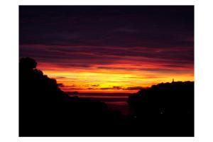 Un'alba vista da via Conti