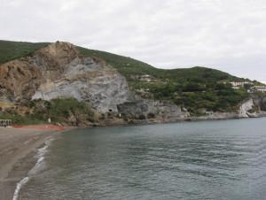 Zona di dx della spiaggia dal mare