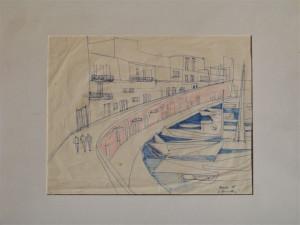 Augusto Vanarelli - PONZA - 1956