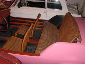 Fiat 850 Spiaggetta interno