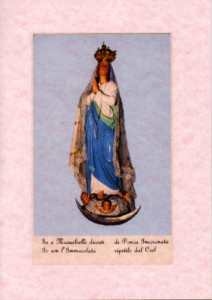 Immagine della Madonna