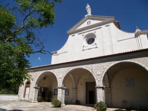 Itri. Santuario della Madonna della Civita