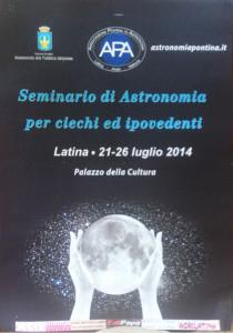 Seminario di Astronomia per non vedenti