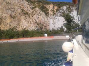 Arrivo dal mare