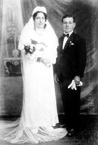 Giacinto Colella e Rosa Impagliazzo sposi