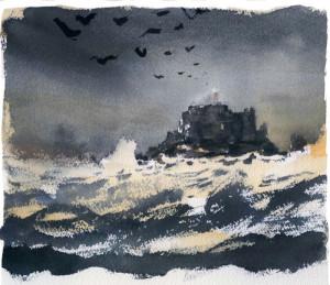 Il Faro e gli uccelli. Di GiPi