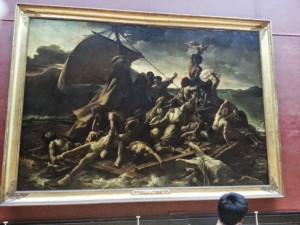Il dipinto al Louvre