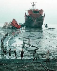 India. Demolizione-navi