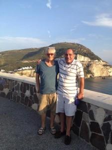 Joe Conte e Silverio Lamonica