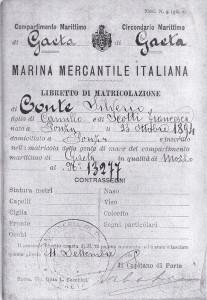 Libretto navigaz.ne di Silvio Conte