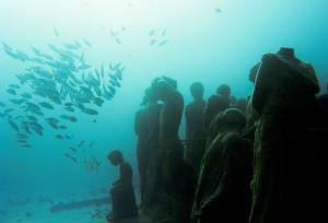 Museo subacqueo. Attesa