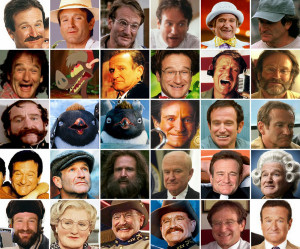 Robin Williams Mosaic