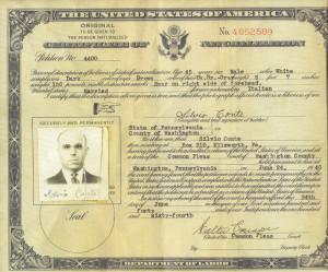 Silvio Conte cittadino americano