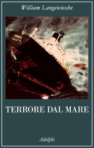 Terrore dal mare. Copertina libro