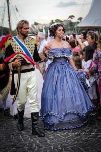 re Ferdinando II di Borbone nel corteo storico