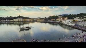 l'entrata del vascello reale nel porto d'Ischia