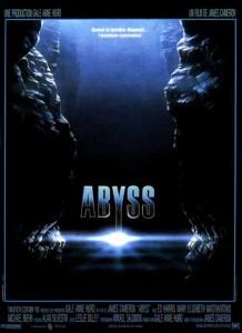 Abyss. Locandina film Cameron 1989